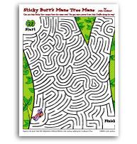 Sticky Burr Maze