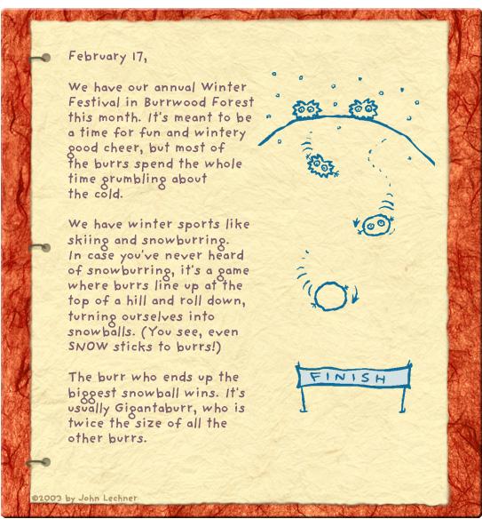 Journal - February